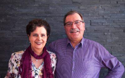 Besuch von Elke und Hartwig Henkel